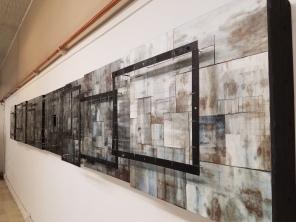 Kira Vollman. Ascending Intervals. The Neutra Institute Museum & Gallery. May 2017. Photo Credit Kristine Schomaker