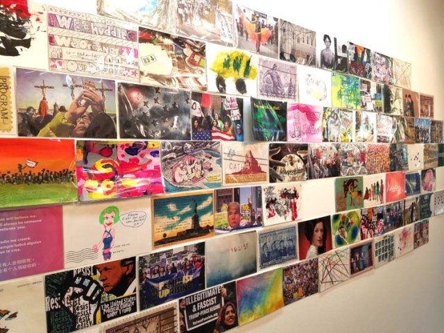 Huddle – A Postcard Show at Shoebox Projects