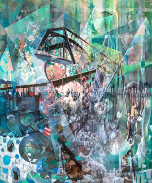 Fatemeh Burnes. Santa Fe Art Colony 2017