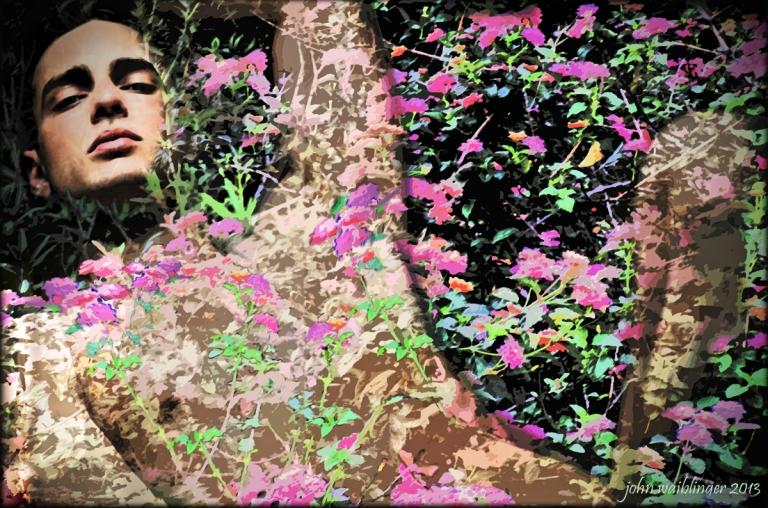 Bed of Flowers by John Waiblinger