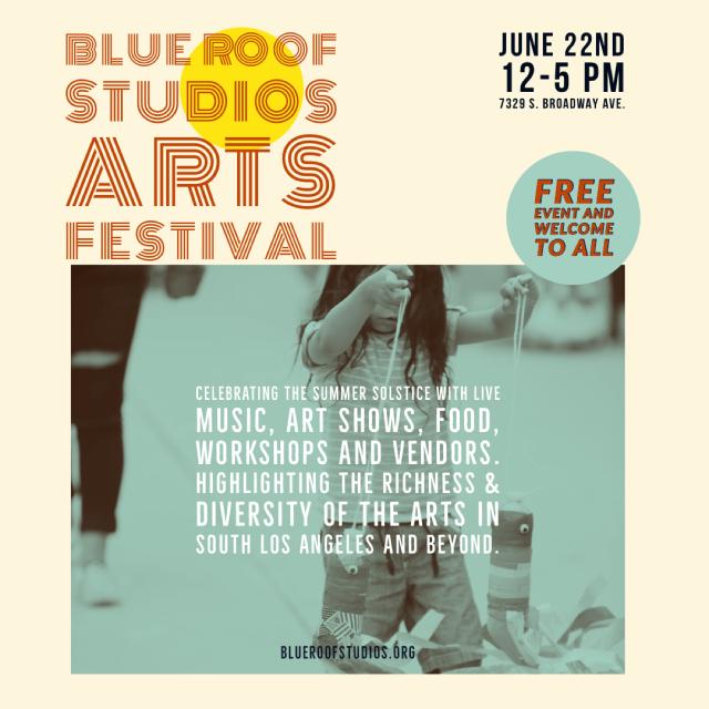 Blue Roof Studios Arts Festival 2019 June22nd